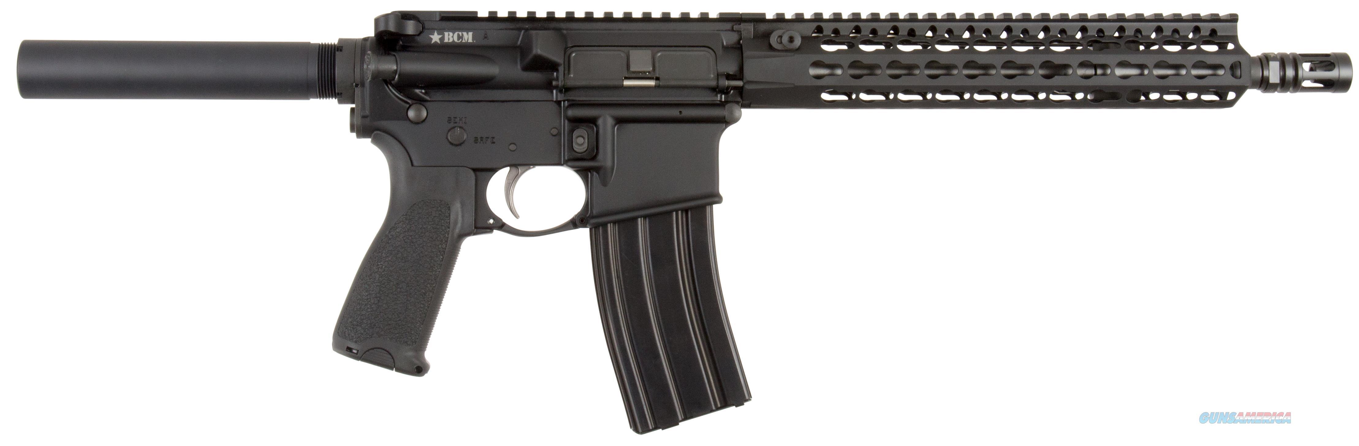 "Bravo 610890Elw Bcm Recce-11 Ar Pistol Semi-Automatic 223 Remington/5.56 Nato 11"" Black 610-890-ELW  Guns > Pistols > B Misc Pistols"