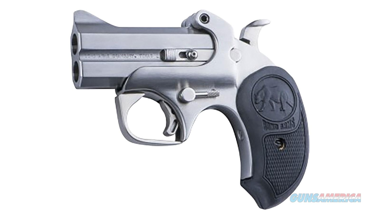 "Bond Arms Bapb Papa Bear 45 Colt/410 Pistol Single 45 Colt (Lc)/410 Gauge 3"" 2 Round Rubber Stainless BAPB  Guns > Pistols > B Misc Pistols"