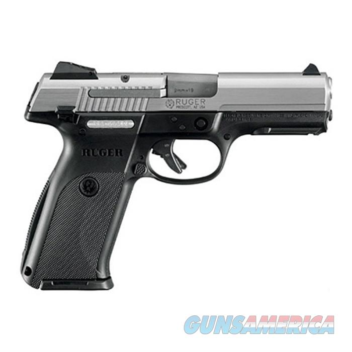 Ruger Centerfire Pistol Sr9~ 9Mm Luger 4.1'' Bbl Black 3309  Guns > Pistols > R Misc Pistols