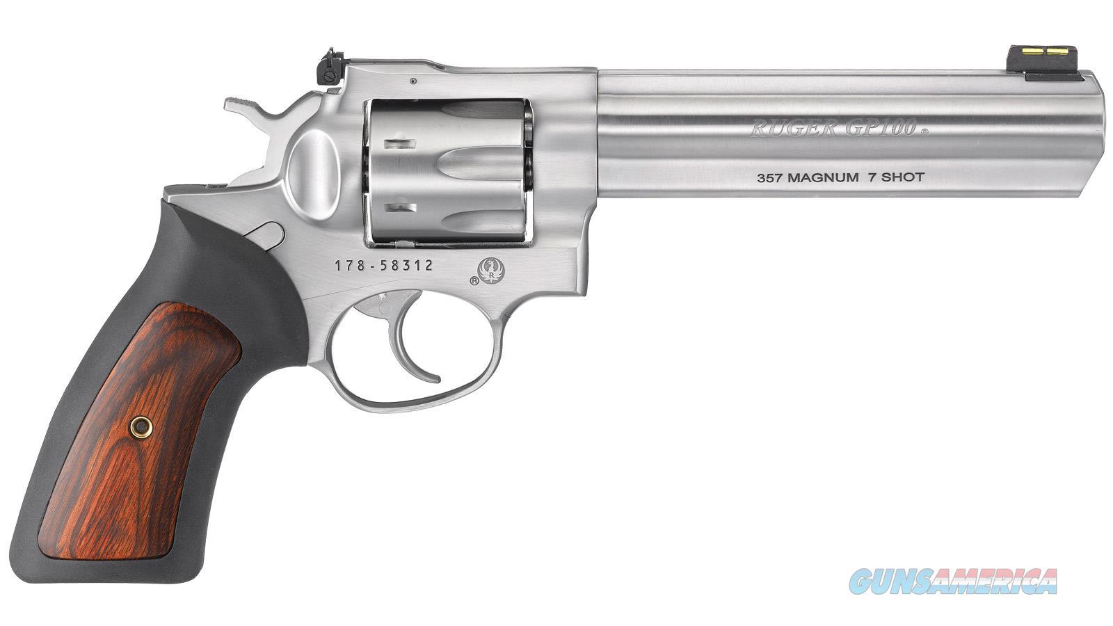 "Ruger Gp100 357Mag 6"" 7Rd 1773  Guns > Pistols > R Misc Pistols"