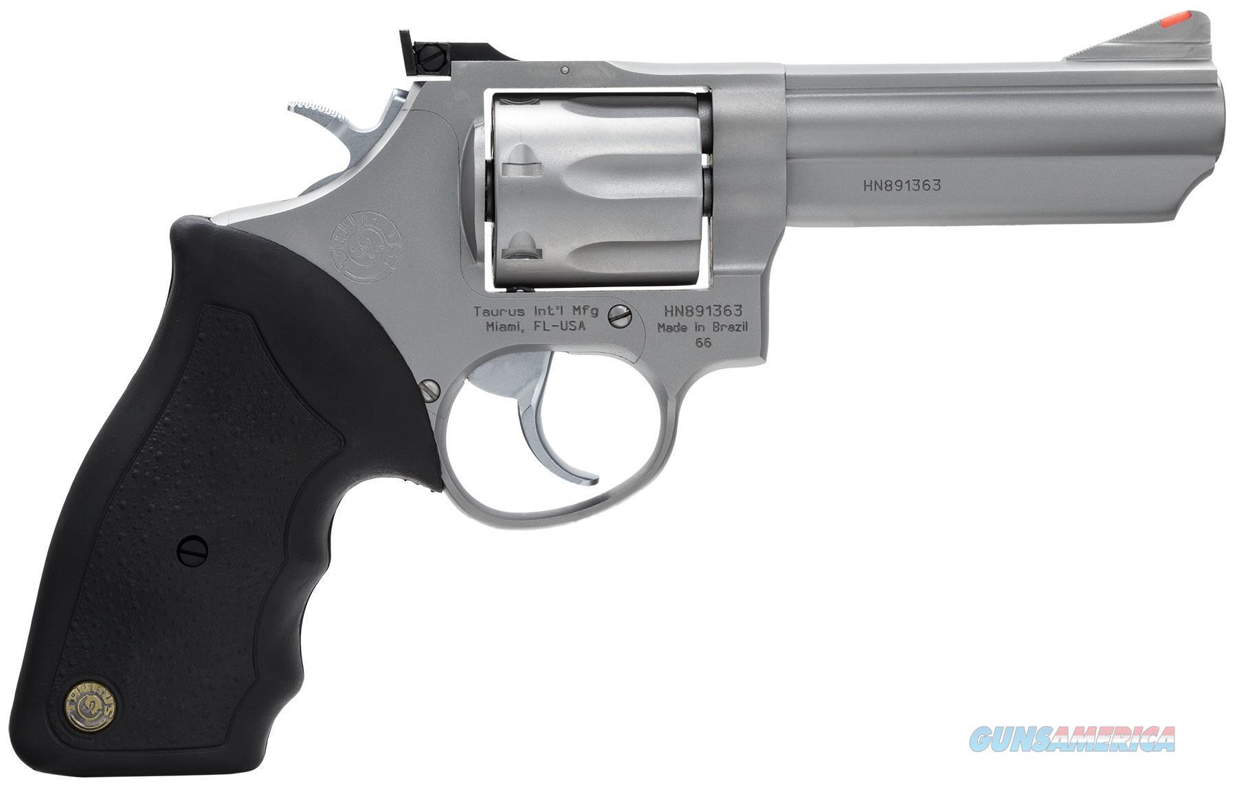 """Taurus 2660049 Mod 66 357 Remmag 4"""" 7Rd Adj Sight Blk Syn Grip Matte Ss 2-660049  Guns > Pistols > TU Misc Pistols"""