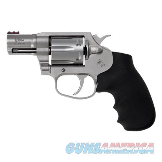 Colt Cobra 38Spl +P 2.1 Ss Red Fos Hogue Overmol COBRA-SM2FO  Guns > Pistols > C Misc Pistols