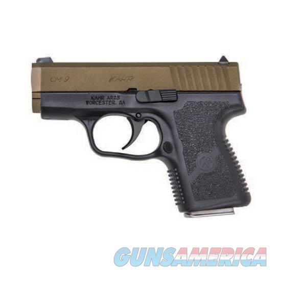 Kahr Arms Cm9 9Mm Dao 6Rd B Fs Bb CM9093BB  Guns > Pistols > K Misc Pistols