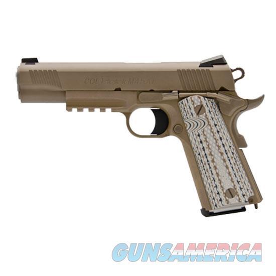 Colt Govt 45Acp 5 Zinc Brown O1070M45  Guns > Pistols > C Misc Pistols
