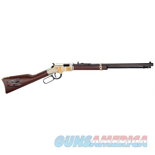 "Henry H004fm Golden Boy Fireman Lever 22 Short/Long/Long Rifle 20"" 16 Lr/21 Short American Walnut Stk Blued Barrel/Nickel Receiver H004FM  Guns > Rifles > H Misc Rifles"