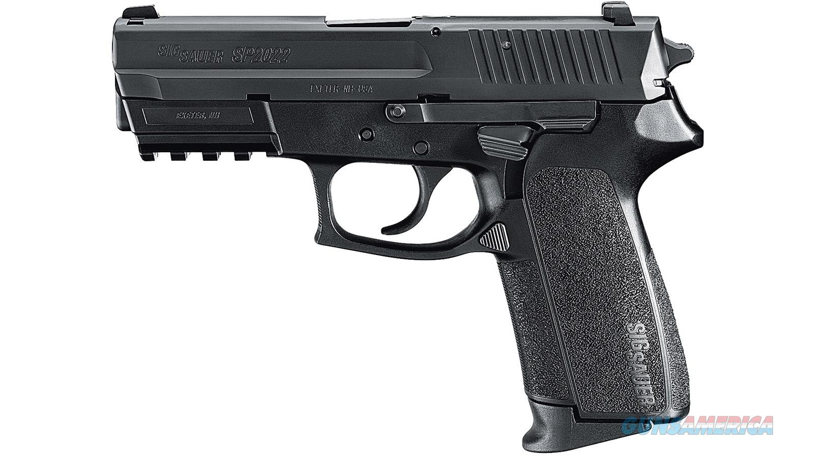 SIG SAUER SP2022 9MM 3.9 BLK DA/SA 10RD MAG MA SP2022M9BSS  Guns > Pistols > Sig - Sauer/Sigarms Pistols > 2022