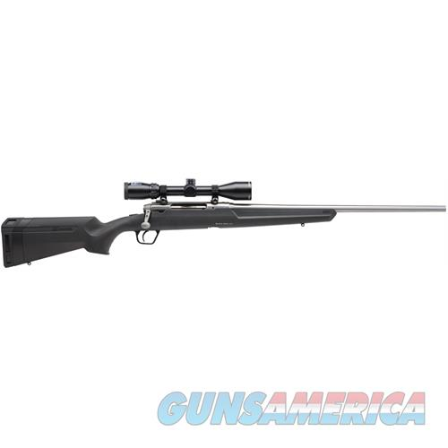 """Savage Arms Axis Xp, Bolt Action Rifle, .308 Win,  22"""" Bbl, Ss, Blk Syn Stock, Dbm, 3-9X40 Bushnell Banner 57291  Guns > Rifles > S Misc Rifles"""