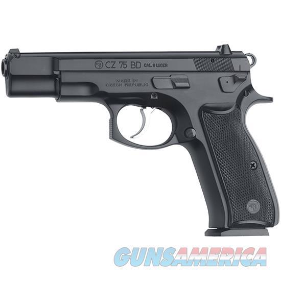 Cz Usa 75 Bd 9Mm Decocker Blk 16Rd 91130  Guns > Pistols > C Misc Pistols
