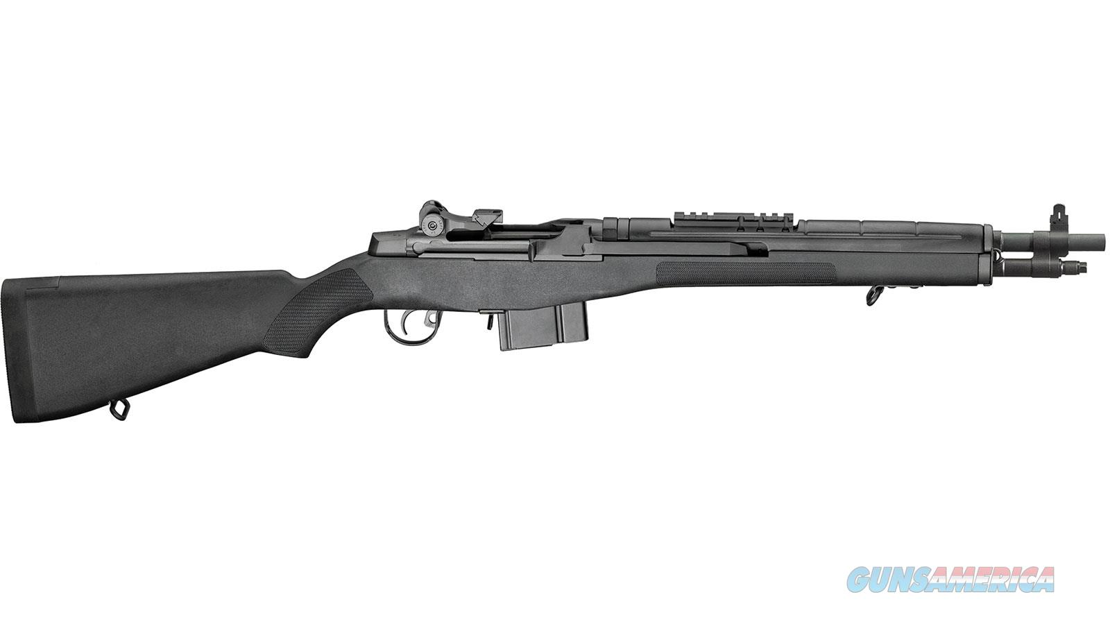 Springfield Armory M1a Scout Squad Blk 308Win 18 Ny Legal AA9126NT  Guns > Rifles > S Misc Rifles