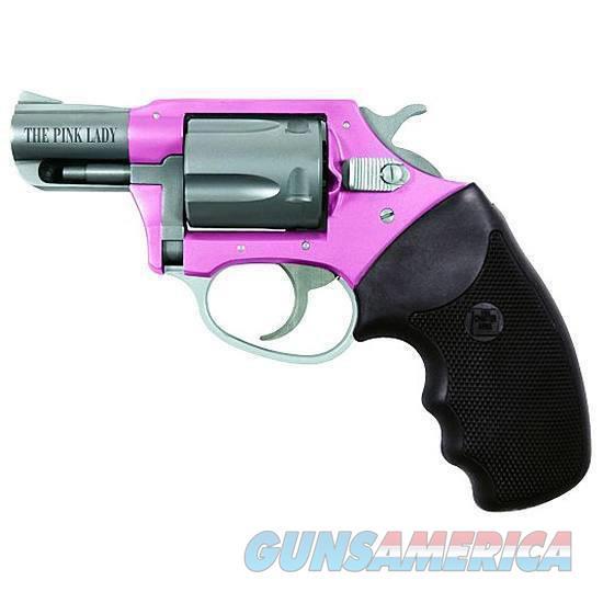 "Charter Arms Pink Lady 38Spl 2"" Pnk/Blk 53835  Guns > Pistols > C Misc Pistols"