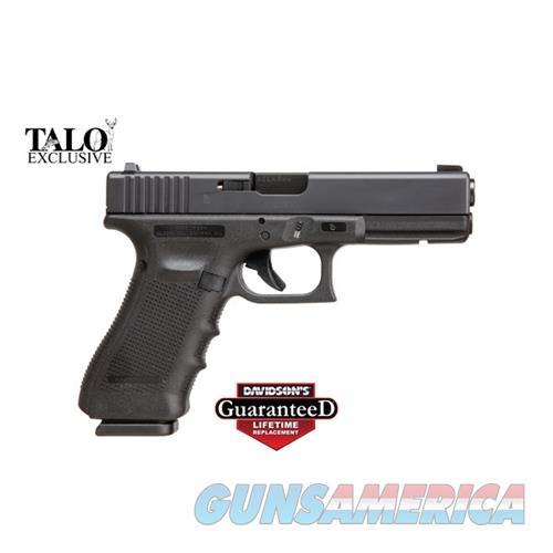 Talo 17 9Mm Gen4 Front Glopro Night Sight 17Rd Black Usa Mfg GLOCK UG1750503  Guns > Pistols > TU Misc Pistols
