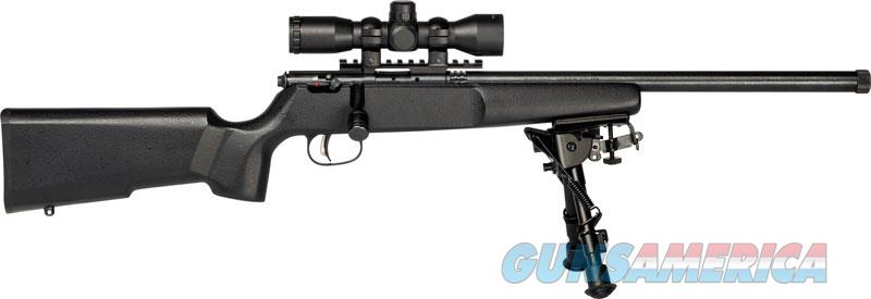 Savage Rascal Bipod Blk Hb Thrd Mzl Target Scope 13824  Guns > Rifles > S Misc Rifles