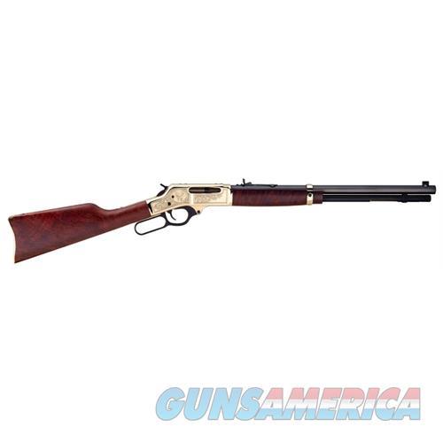 "Henry Brass Wildlife .30-30 20"" Octagon Walnut Engraved H009BWL  Guns > Rifles > H Misc Rifles"