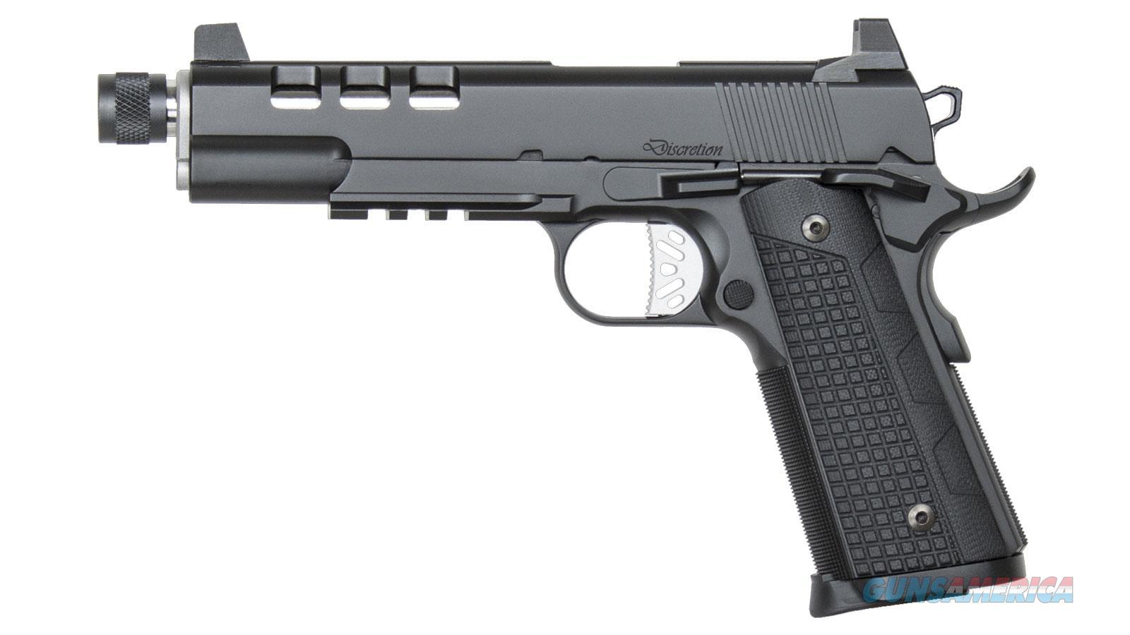 Czusa Dw Discretion 45Acp Blk Supp Ready Ns Rail 01885  Guns > Pistols > C Misc Pistols
