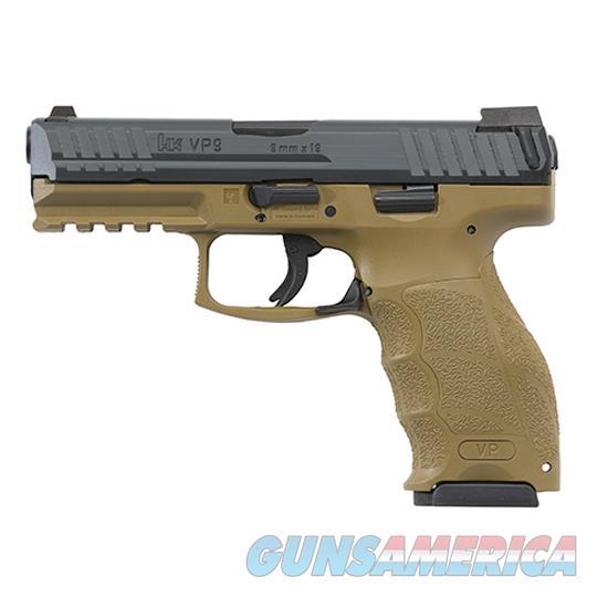 Heckler & Koch Vp9 9Mm 4.09 Fde Ns 3 10Rd 700009FDELELA5  Guns > Pistols > H Misc Pistols