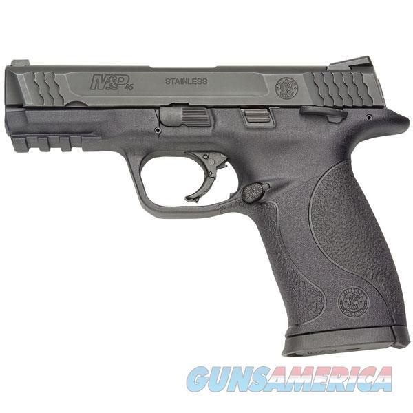 Smith & Wesson M&P 45 Semi Auto Pistol 45 Acp, 4.5 In, Poly Grp, 10+1 Rnd, Large Blk Frame 109106  Guns > Pistols > S Misc Pistols