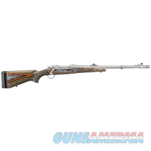 "Ruger 47115 Guide Gun Standard Bolt 338 Ruger Compact Magnum 20"" 3+1 Laminate Green Mountain Stk Stainless Steel 47115  Guns > Rifles > R Misc Rifles"