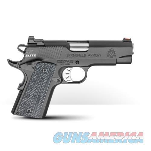 Springfield Armory 1911 Range Officer Elite 45Acp Lw Compact PI9126E  Guns > Pistols > S Misc Pistols
