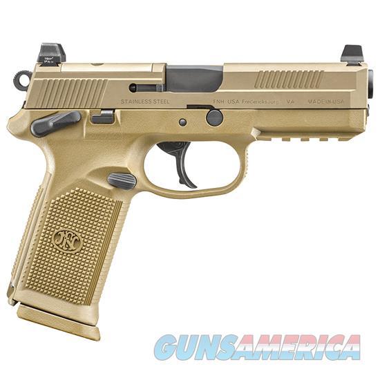 Fn Manufacturing Fnx-45 Tactical 4.5 45Acp Fde Ns 3-10Rd 66100223  Guns > Pistols > F Misc Pistols