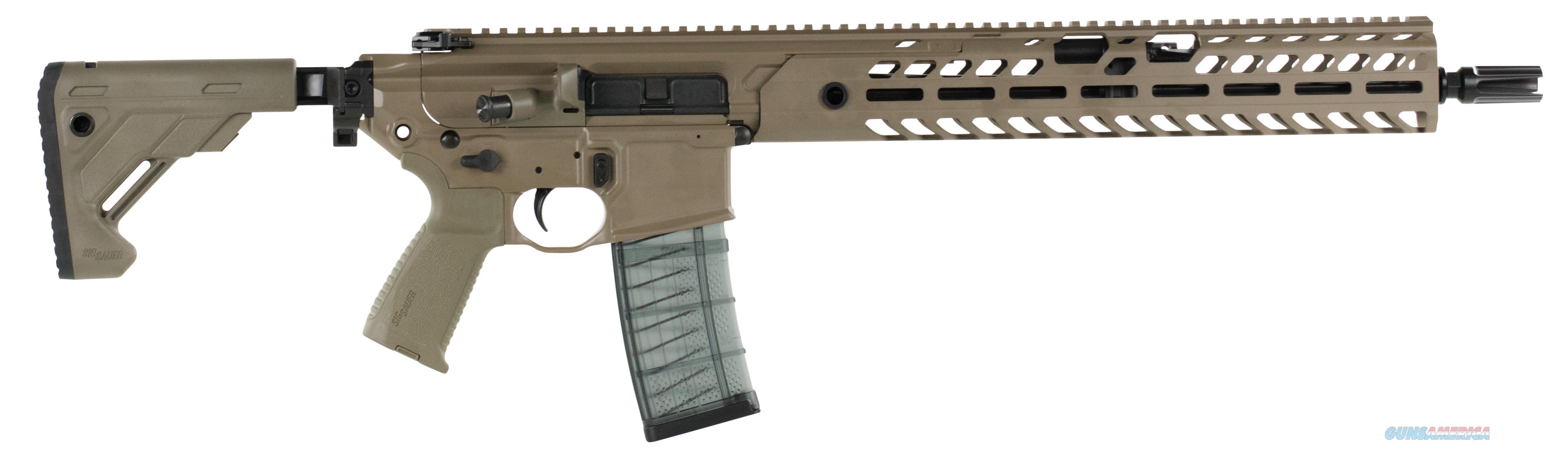 "Sig Sauer Mcx 5.56 16"" 30Rd RMCX-16B-TAP-P-FDE  Guns > Rifles > S Misc Rifles"