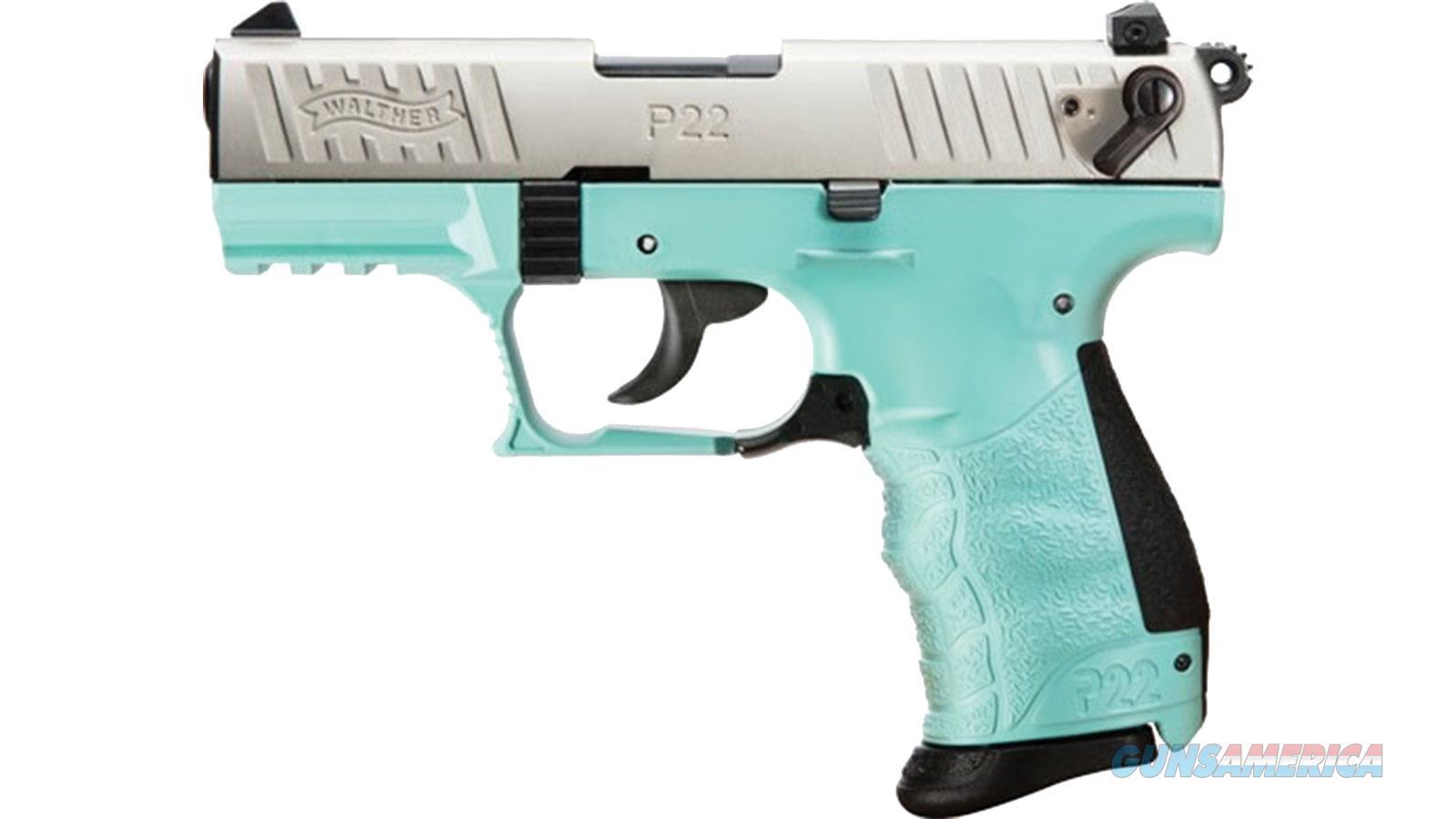 "Walther Arms P22qd 22Lr 3.4"" 10Rd 5120560  Guns > Pistols > W Misc Pistols"
