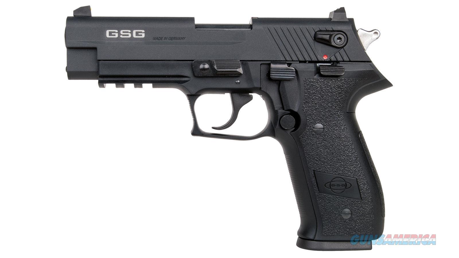 German Sport Gsg Firefly Hga 22Lr 4.9  Threaded Blk 10Rd GERG2210TFF  Guns > Pistols > A Misc Pistols