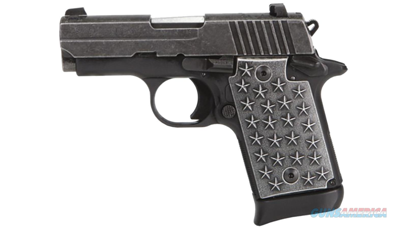 Sig Sauer P938 We The People 9Mm Ss 7+1 938-9-WTP  Guns > Pistols > S Misc Pistols