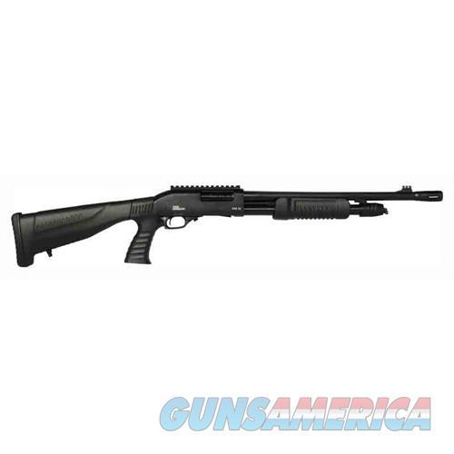 """Iver Johnson Johnson Shotgun 12Ga. 3"""" 18"""" Cyl Blued Qd Pg Buttstock PAS12PG RAIL  Guns > Shotguns > IJ Misc Shotguns"""