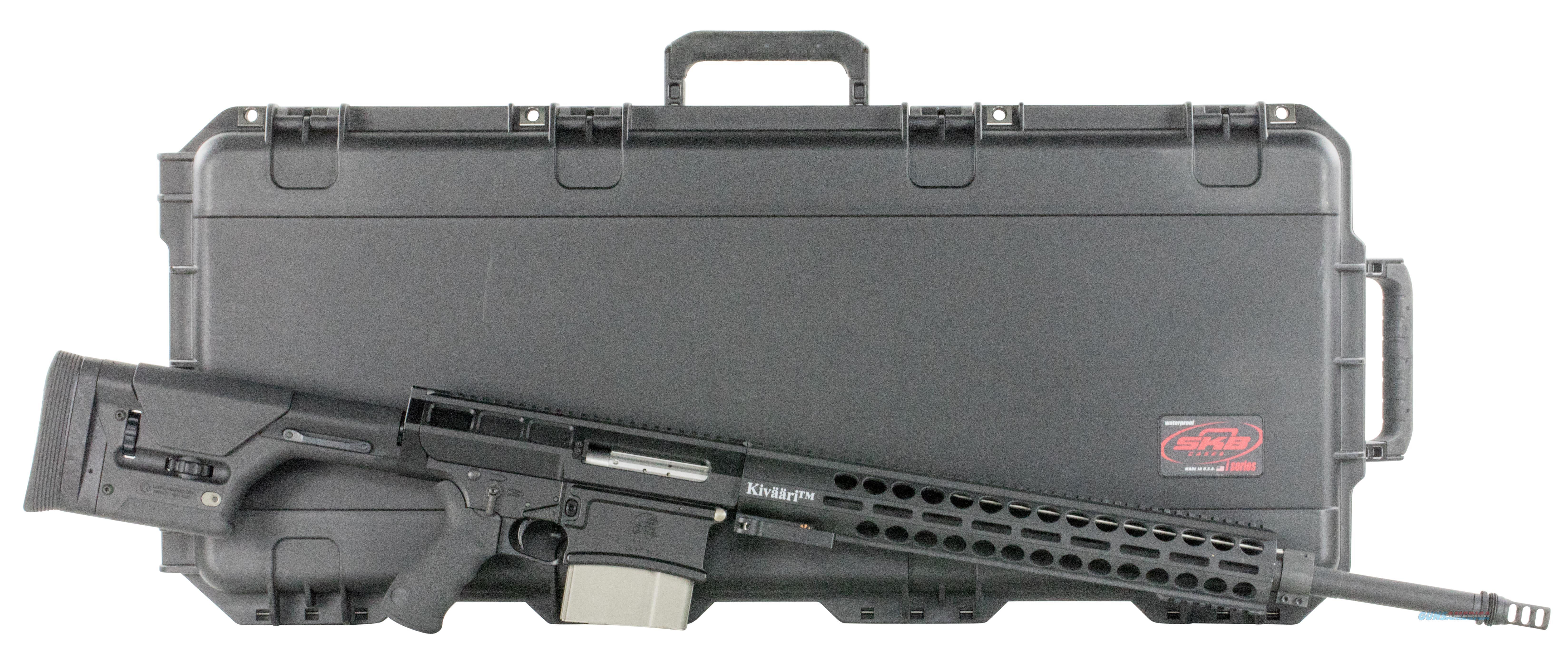 """Drd Tactical K338bhc Kivaari 338 Lapua Magnum Semi-Automatic 338 24"""" 10+1 Magpul Prs Black Stk Black K338BLKHC  Guns > Rifles > D Misc Rifles"""