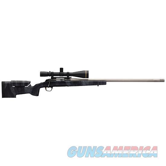 Browning Xbolt Target 6.5Cree 28 Fluted Bbl Muzzle 035426282  Guns > Rifles > B Misc Rifles