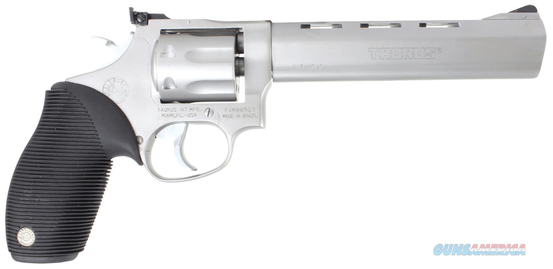 "Taurus 2170069 17 Tracker 17 Hmr 6.5"" 7Rd Adj Sight Ribber Grip Overlay Matte Ss 2-170069  Guns > Pistols > TU Misc Pistols"