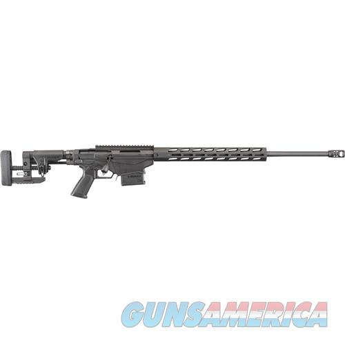 "Ruger Precision 6Mm Creedmoor 24"" Matte Black W/Muzzle Brake 18016  Guns > Rifles > R Misc Rifles"