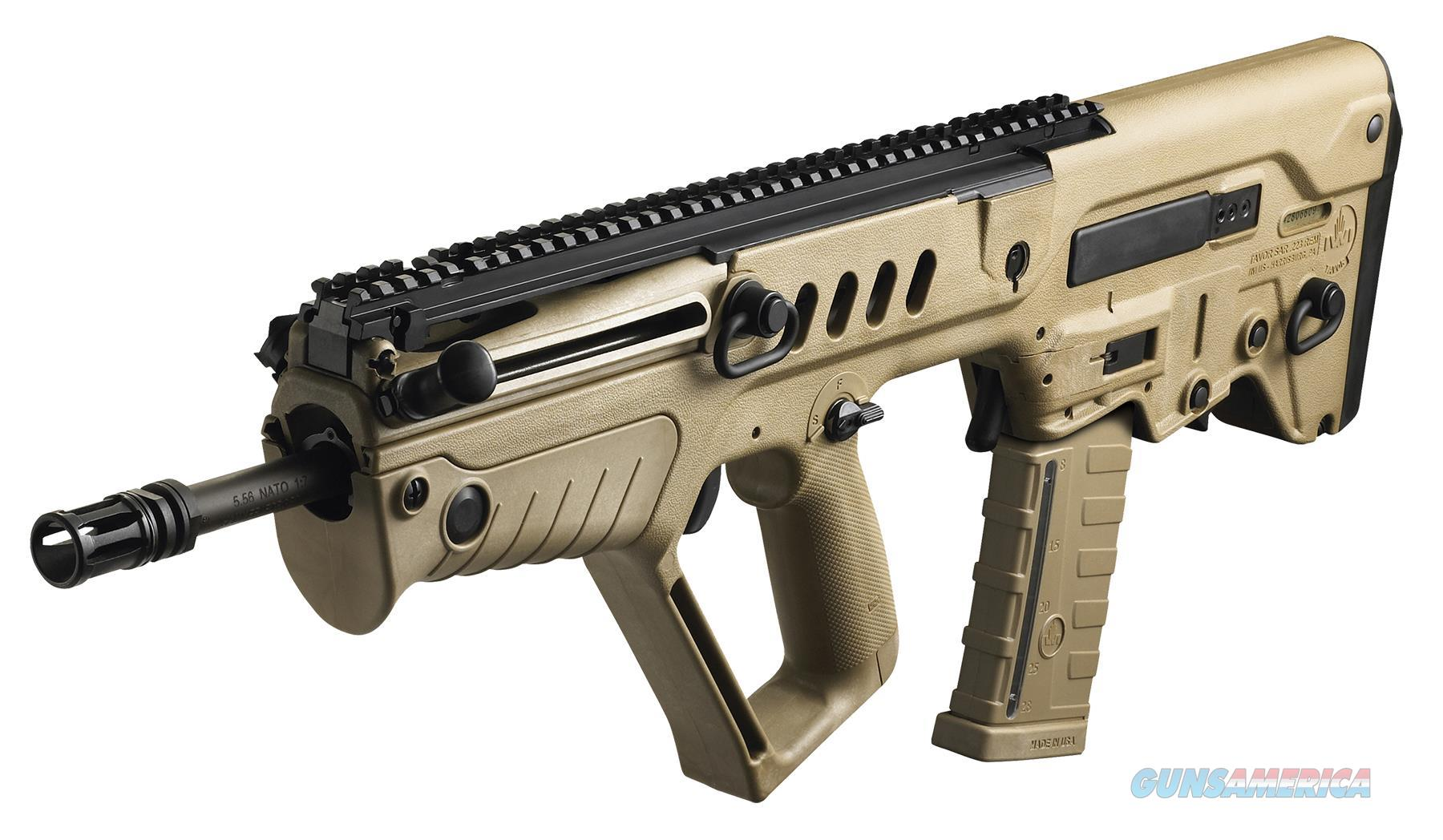 "Iwi Us Tsdf16 Tavor Sar Semi-Automatic 223 Remington/5.56 Nato 16.5"" 30+1 Polymer Flat Dark Earth Stk Flat Dark Earth TSFD16  Guns > Rifles > IJ Misc Rifles"