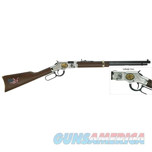 "Henry H004cm2 Golden Boy Coal Miner Tribute Ii Lever 22 Short/Long/Long Rifle 20"" 16 Lr/21 Short American Walnut Stk Blued H004CM2  Guns > Rifles > H Misc Rifles"