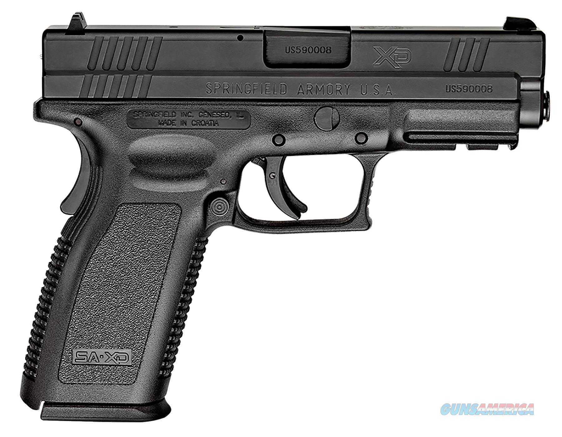 "SPRINGFIELD XD9103 XD ESSENTIAL 4"" FULL SIZE CA APPR 357SIG DAO 4"" 10+1 POLY GRI XD9103  Guns > Pistols > Springfield Armory Pistols > XD (eXtreme Duty)"