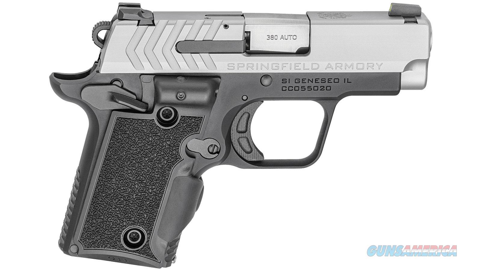 Springfield Armory 911 380Acp 2.7 Ss Green Viridian Laser PG9109SVG  Guns > Pistols > S Misc Pistols