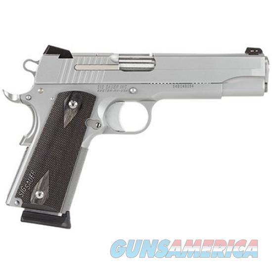 Sig Sauer 1911 45Acp Ss Ns 2 8Rd Ca Legal 1911-45-SSS-CA  Guns > Pistols > S Misc Pistols