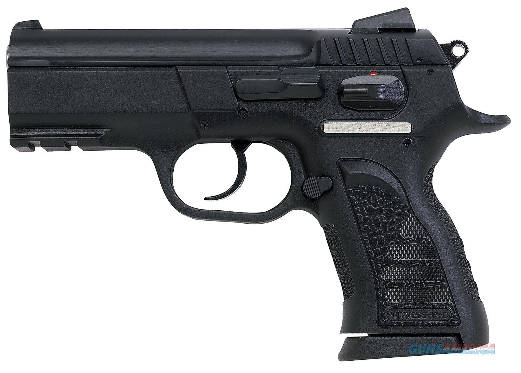 "Eaa 999108 Witness P Compact Sa/Da 40S&W 3.6"" 12+1 Poly Grip/Frame Blk 999108  Guns > Pistols > E Misc Pistols"