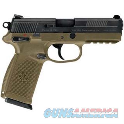 Fn Manufacturing Fnx-45 45Acp Usg Fde Blk Ms 15Rd 66964  Guns > Pistols > F Misc Pistols