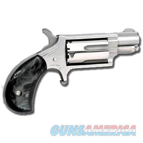 Mini 22Mag Rev 1-1/8 Ss Blkprl NAA-22MS-GP-B  Guns > Pistols > MN Misc Pistols