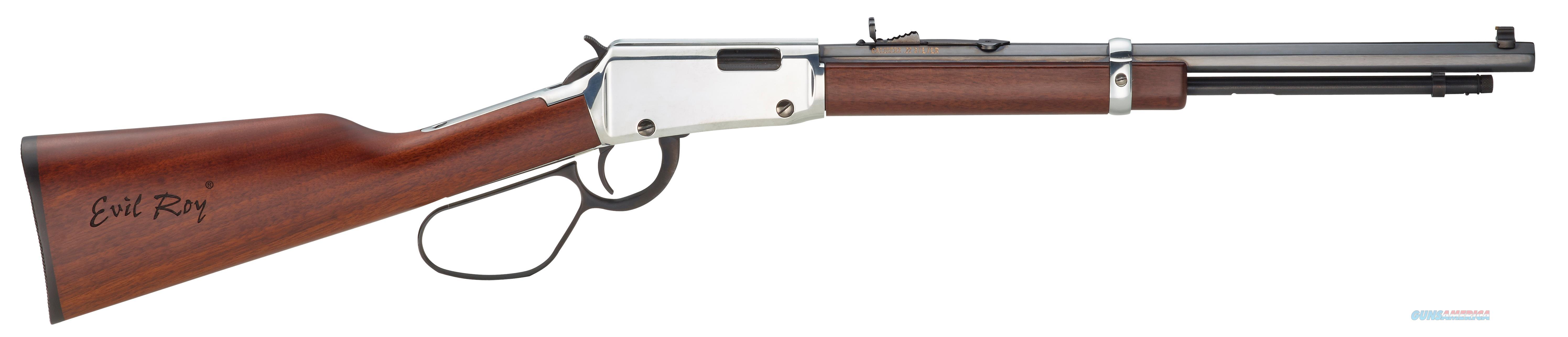"Henry Repeating Arms Evil Roy 22Mag16.5"" Slv/Blue Octagon 7Rd H001TMER  Guns > Rifles > H Misc Rifles"