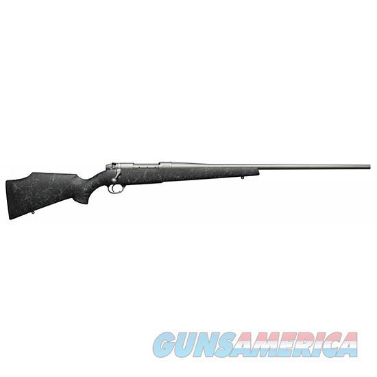 Weatherby Mkv 7Mmrem 24 Blk Gry Web Weathermark #2 MWMM7MM4O  Guns > Rifles > W Misc Rifles