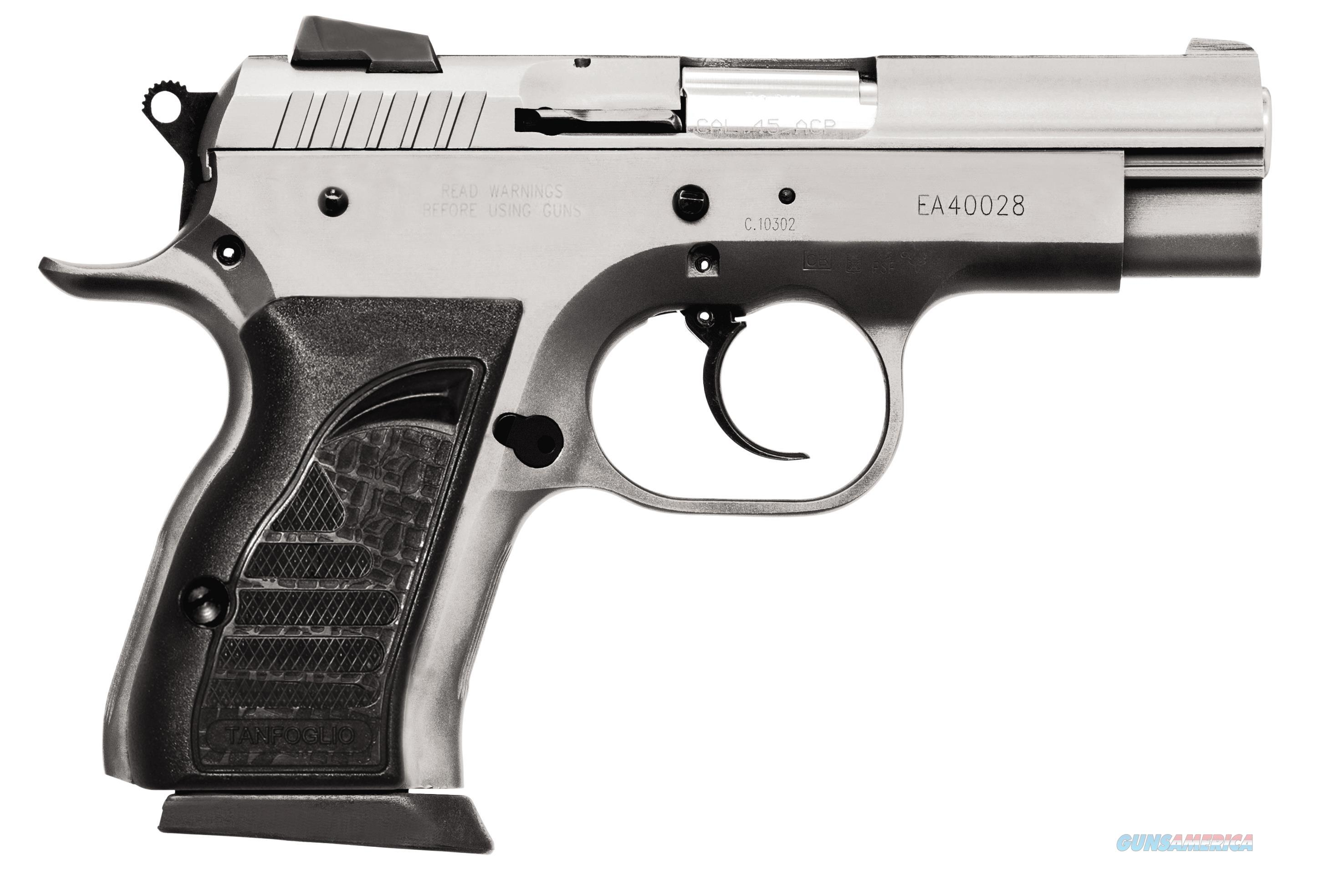 """Eaa 999099 Witness Compact Steel 9Mm 3.6"""" 13+1 As Black Synthetic Grip Wonder Ss Finish 999099  Guns > Pistols > E Misc Pistols"""