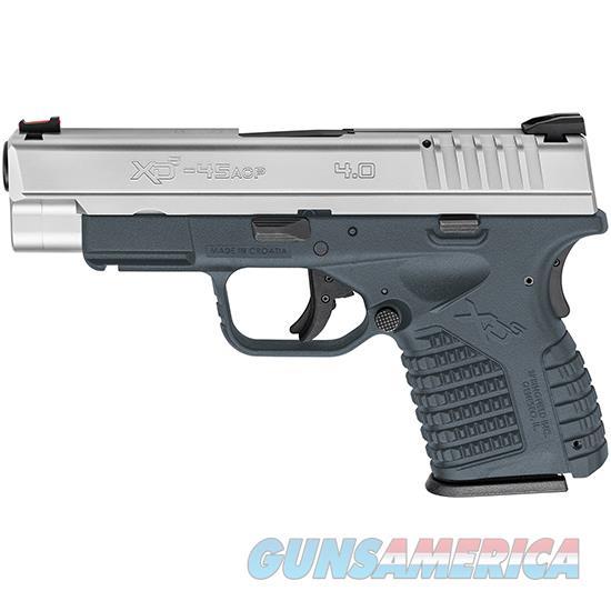 Springfield Armory Xds 45Acp Xdman Ss Titanium Blue Frame XDS94045SETB  Guns > Pistols > S Misc Pistols