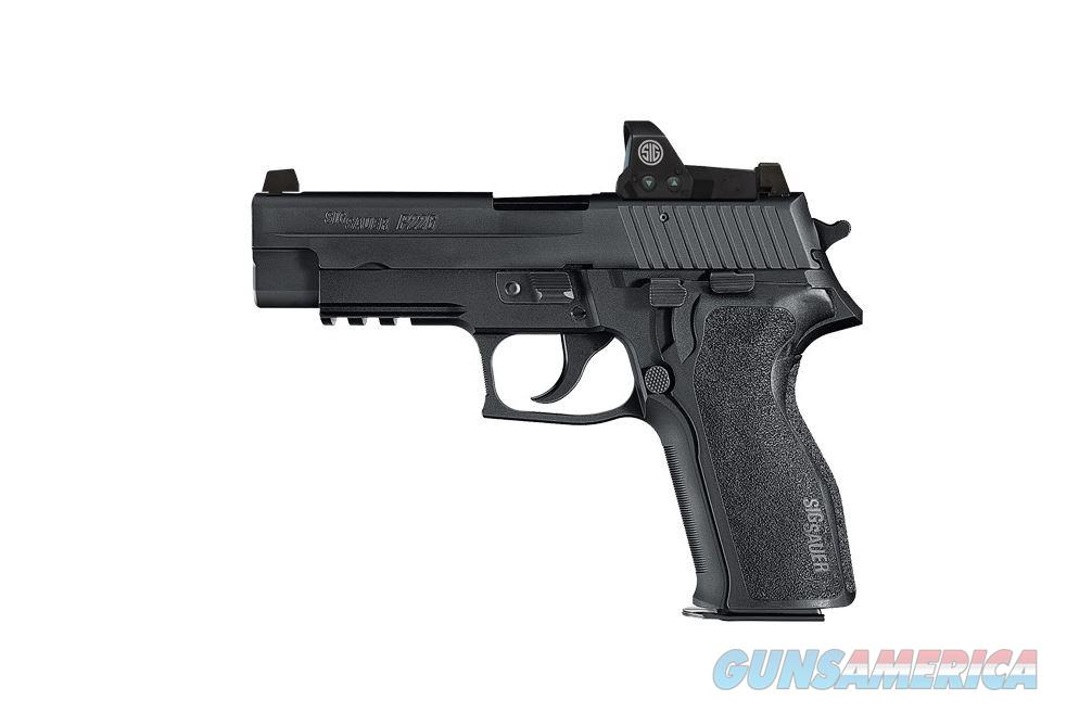 "SIG SAUER 226R9BSSRX P226 SINGLE/DOUBLE 9MM 4.4"" 10+1 BLACK 1-PIECE ERGO GRIP BL 226R9BSSRX  Guns > Pistols > S Misc Pistols"