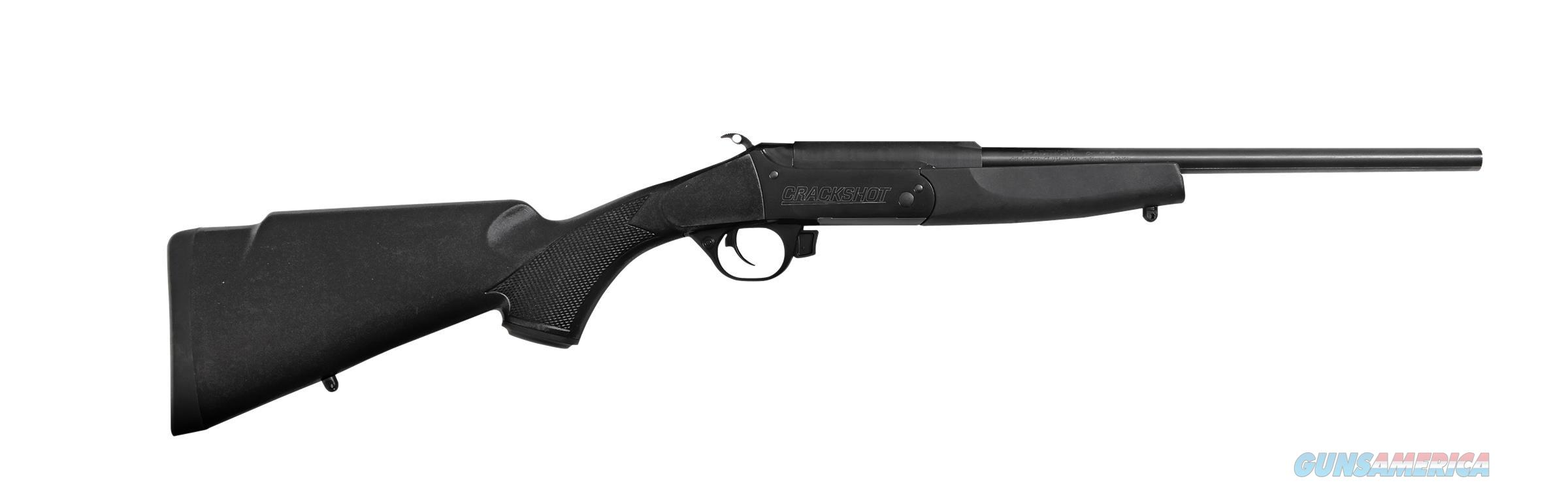 "TRADITIONS CRY220070 CRACKSHOT CMPT BREAK OPEN 22LR 16.5"" 1RD SYN BLACK CRY220070  Guns > Rifles > Traditions Rifles"