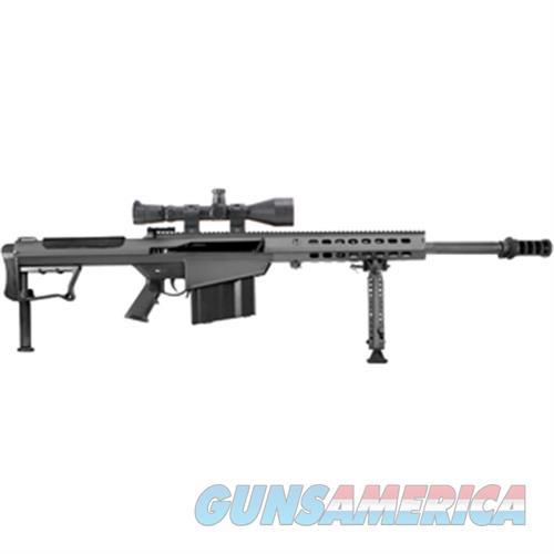 Barrett M107a1 50Bmg 20 Fltd Blk Leu Mark4 M1 14016  Guns > Rifles > Barrett Rifles