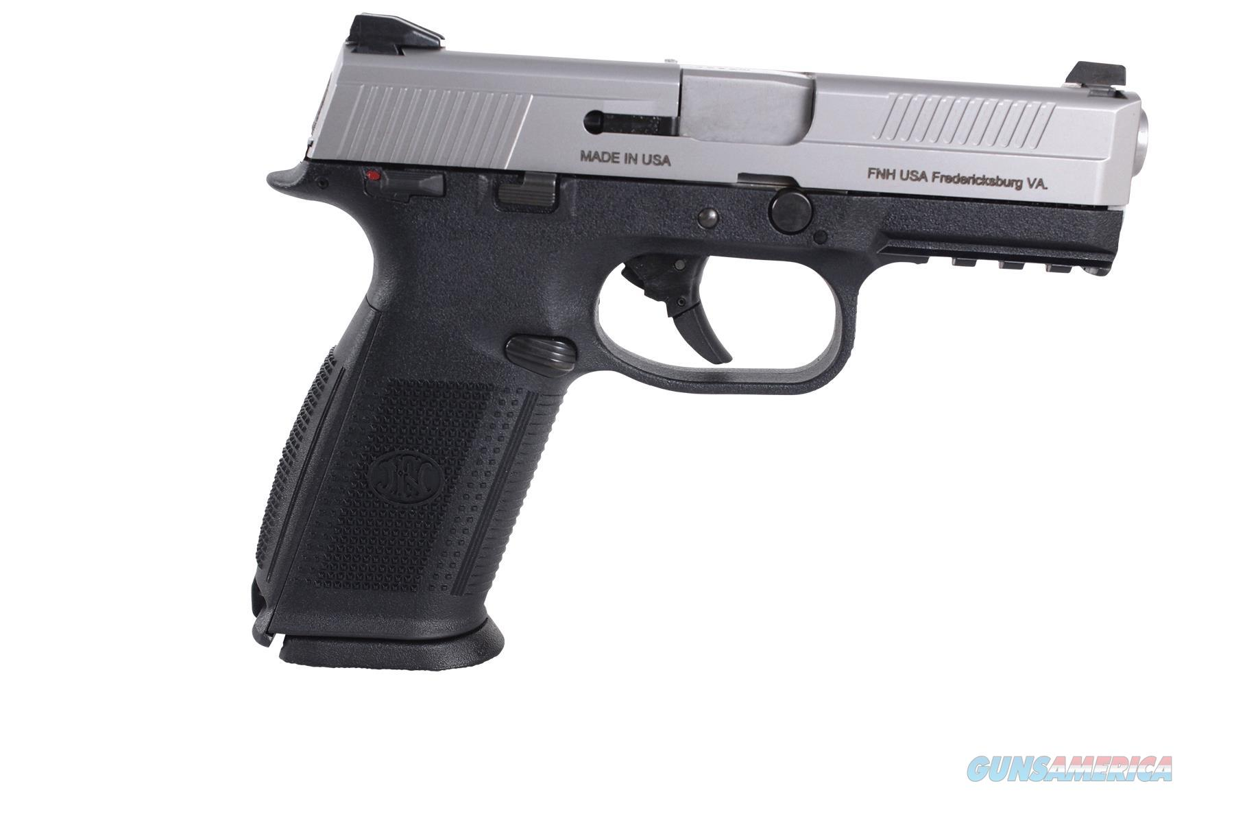 FN MANUFACTURING FNS-40 DA BLK/SS 10RD-3 66947  Guns > Pistols > FNH - Fabrique Nationale (FN) Pistols > FNS
