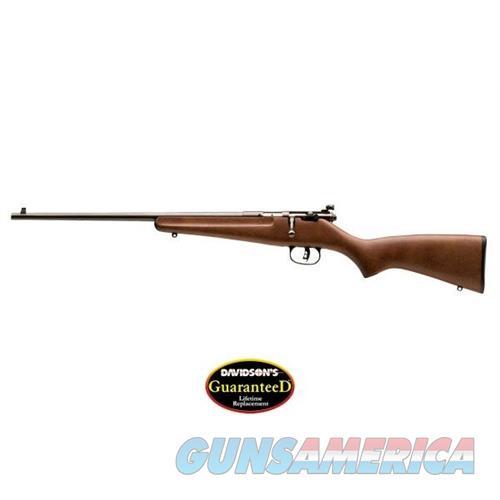 Savage Arms Rascal 22Lr Ba Rfl Wood Lh 13820-SAV  Guns > Rifles > S Misc Rifles