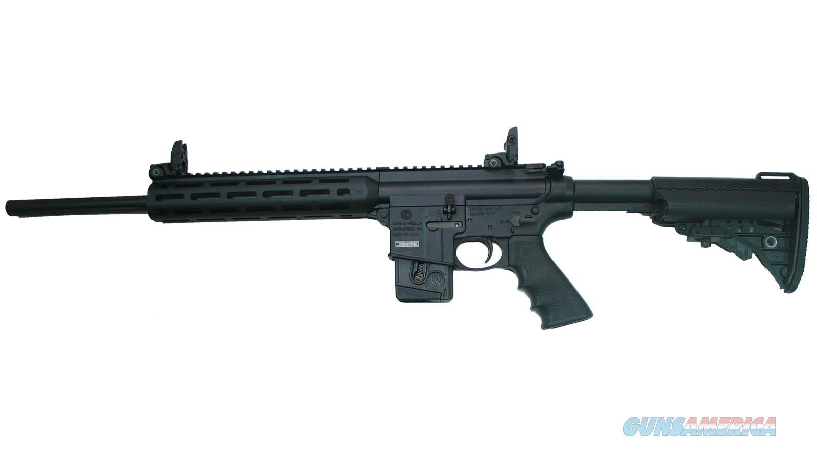 "Smith & Wesson M&P 15-22 Performance Center Sport Semi Auto Rifle 22Lr 18"" 10Rnd Black Fixed Stk Compliant 11507  Guns > Rifles > S Misc Rifles"